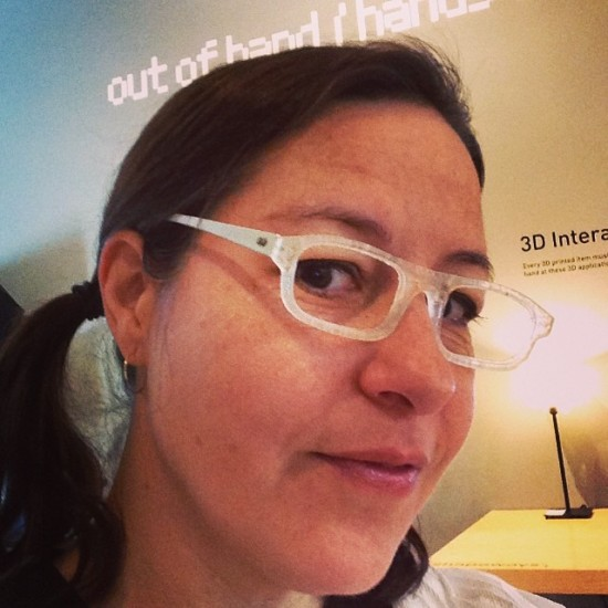 Carla's new frames at MAD